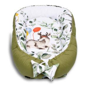 Babynest Babykokon Palulli Bambi Grün