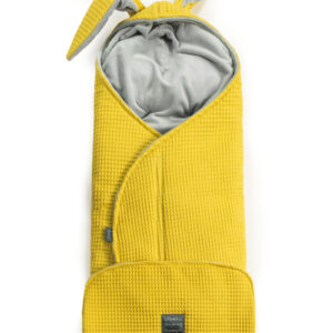 Baby Schlafsack gelb mit Hasenohren für Autositz online in Österreich kaufen