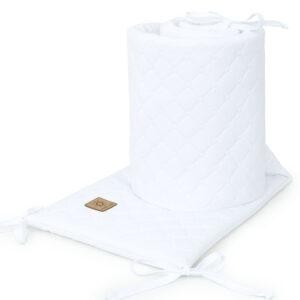 Bettumrandung 180x30 fürs Gitterbett Baby Nestchen in Weiß online kaufen Österreich