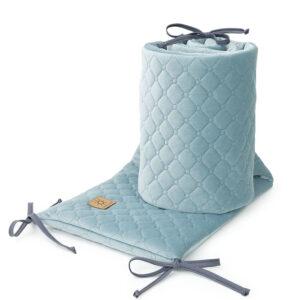 Bettumrandung 180x30 fürs Gitterbett Baby Nestchen in Khaki online kaufen Österreich