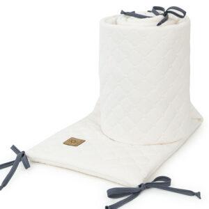 Bettumrandung 180x30 fürs Gitterbett Baby Nestchen in Ecru online kaufen Österreich