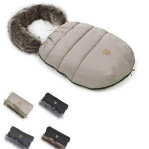 Winter Schlafsack für Kinderwagen mit Handwärmer