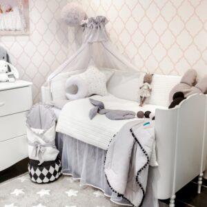 Hase Sweter Baby Bettwäsche 100x135 und 90x120 Farbe Weiß online kaufen Österreich und Deutschland