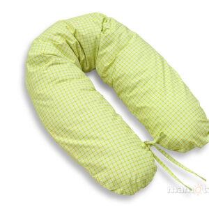 Schwangerschaftskissen Grün Karo online kaufen
