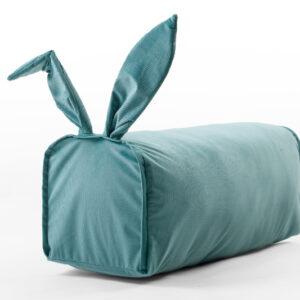Kinder Sitzsack aus Samt Farbe Grün für Mädchen und Jungen 70x300x30 Amazon Pay